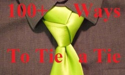 Mens fashion videos animated how to tie a necktie trinity knot how to tie a tie ccuart Images
